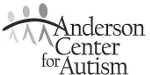 Anderson Center for Autism Logo Black and White
