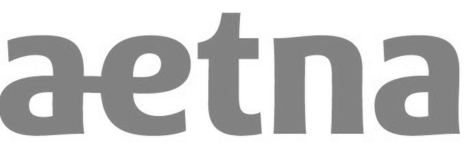 Aetna Logo Black and White