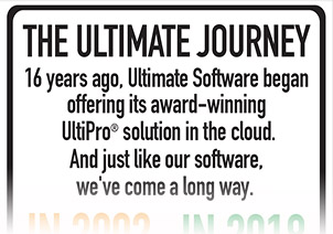 Follow the Ultimate Journey and discover how far we've come in more than a decade offering UltiPro in the cloud.