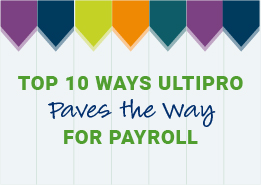 Learn how UltiPro delivers payroll software that's designed offer the flexibility and control to run payroll in a way that suits the needs of your organization.