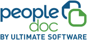 Logotipo da PeopleDoc da Ultimate Software