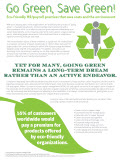 Discover why for many organizations, the prospect of going green still feels like a long-term dream, perpetually out of reach.