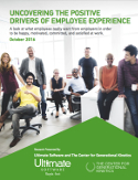 See why this whitepaper will help you understand what influences employees' level of satisfaction and performance at work!