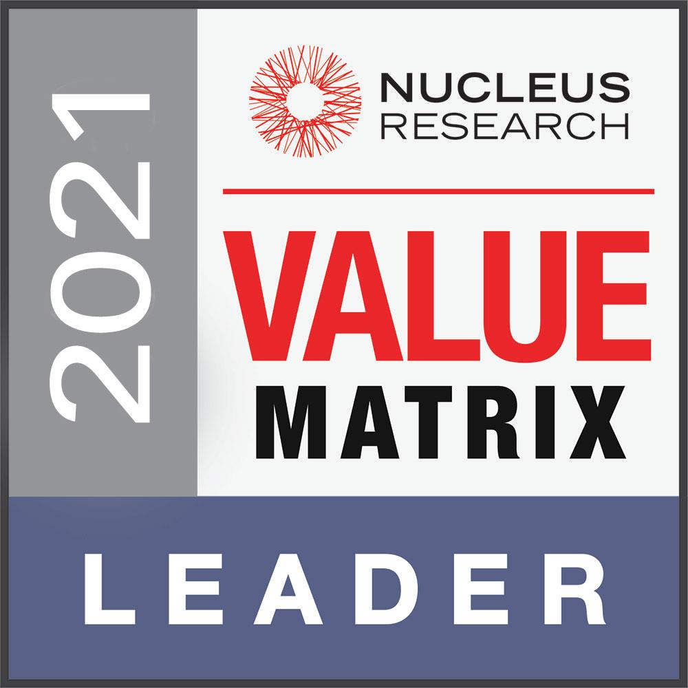 WFM Technology Value Matrix 2021