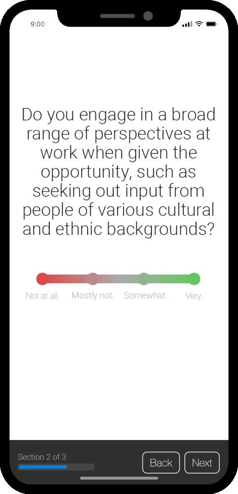 Perception Pulse Survey Question