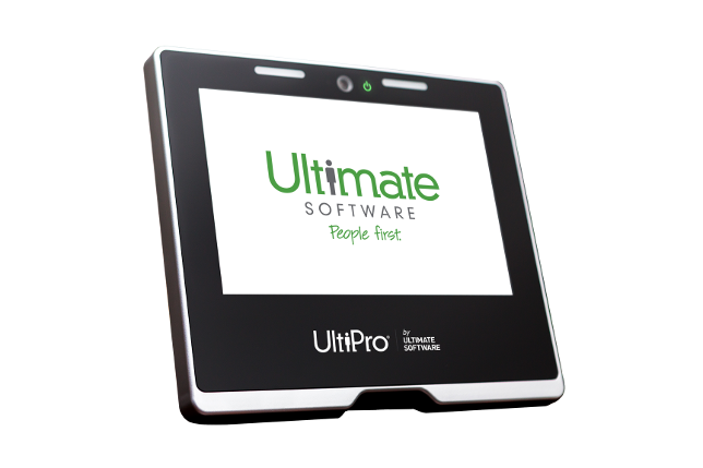 Employee Time Clock Software | UltiPro Touchbase<sup>®</sup>