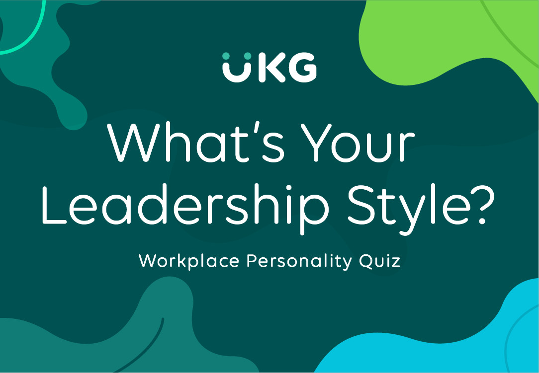 What's Your Leadership Style
