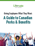 Download A Guide to Canadian Perks & Benefits – talent management whitepaper
