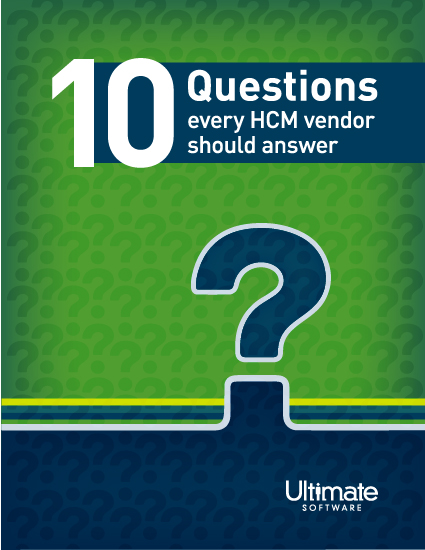 Download 10 Questions Every HCM Vendor Should Answer - HCM Whitepaper