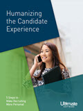 Humanazing the Candidate Experience for Recruitment - HCM Whitepaper