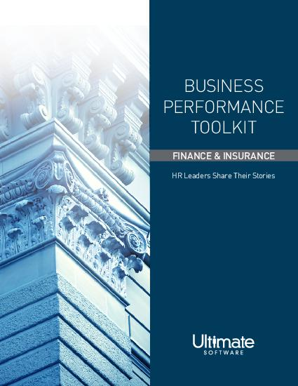 Business Performance Toolkit for Finance & Insurance