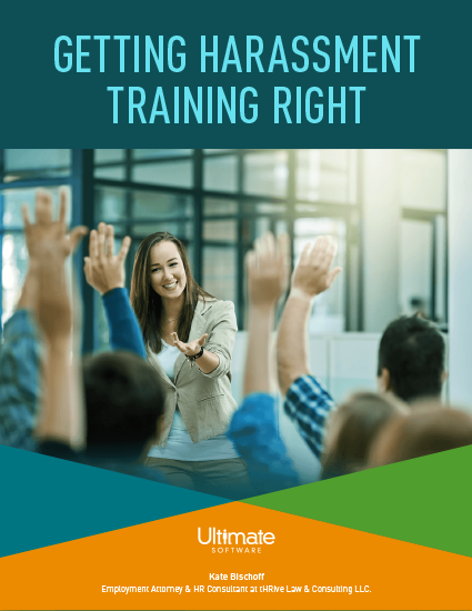 Discover new strategies to better address and eliminate harassment in the workplace