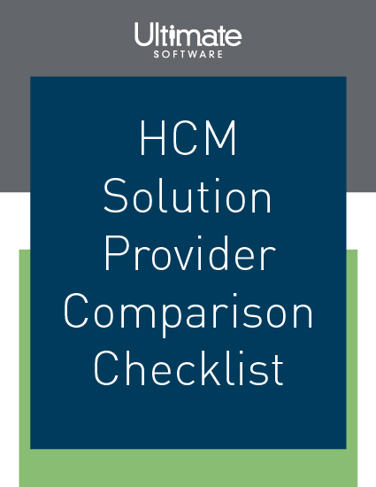 Compare and contrast vendor features: download The Human Capital Management Checklist Every HR Payroll Professional Should Have