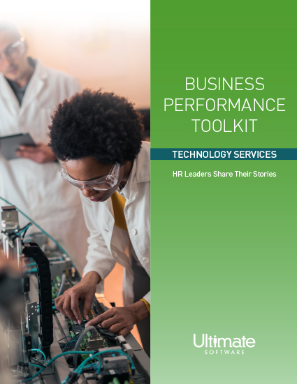 Access your Business Performance Toolkit for Technology Services
