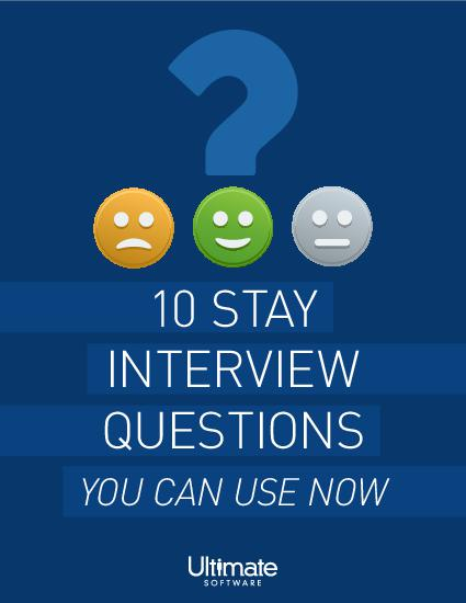 10 Stay Interview Questions You Can Use Now
