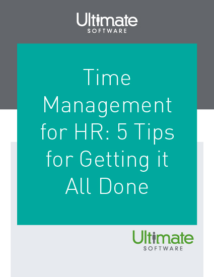 5 Time Management Tips for HR