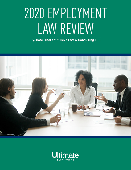 Stay up to date on the latest changes in employment law guide with this 2020 Employment Law Review