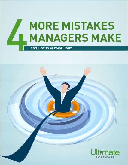 4 More Mistakes Managers Make - Talent Management Whitepaper