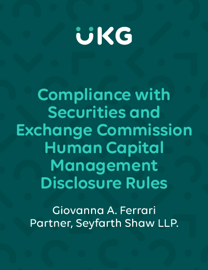 Download our quick guide for everything you need to know about rule changes to the disclosures required by the Securities and Exchange Commission (SEC).