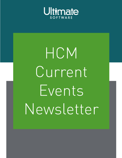 Subscribe to the HCM Current Events Newsletter – compliance newsletter