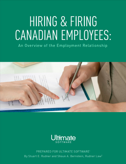 Hiring and Firing Canadian Employees