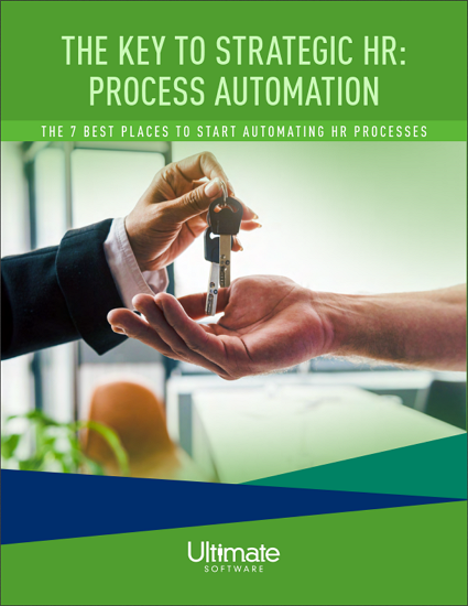 The Key to Strategic HR: Process Automation