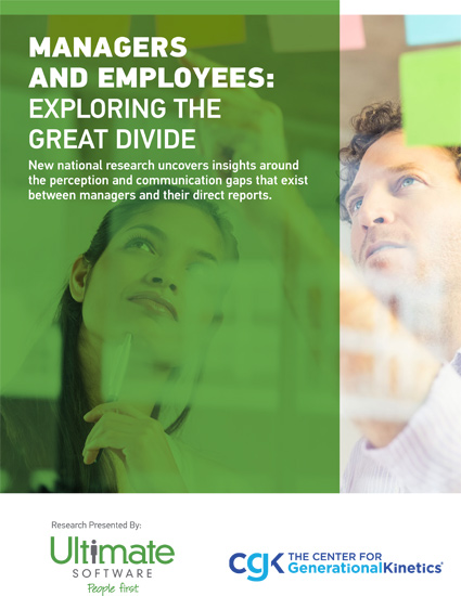 Download your talent management research guide - Managers and Employees Exploring the Divide