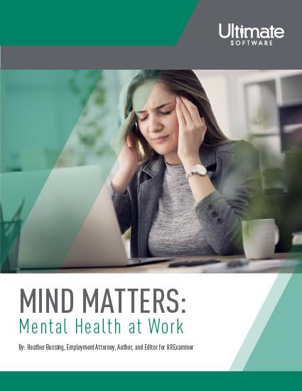 Mind Matters: Mental Health at Work