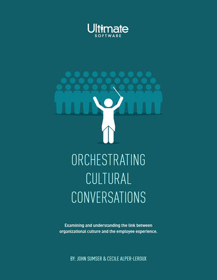 Orchestrating Cultural Conversations - HR Research Whitepaper