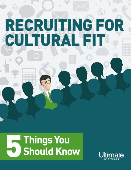 Recruiting for a Cultural fit, 5 things to know whitepaper
