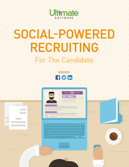 Download Social Media Powered Recruiting: For the Candidate - recruiter whitepaper