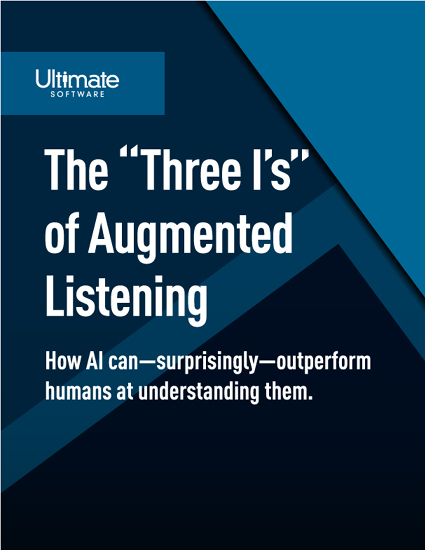 The Three I's of Augmented Listening Whitepaper