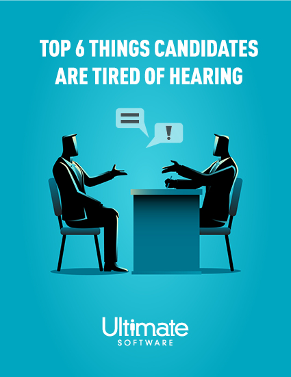 Access your recruiting whitepaper – top things candidates are tired of hearing