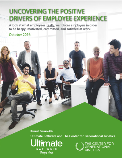 Uncovering the Positive Drivers of Employee Experience