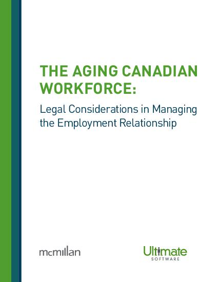 The Aging canadian Workforce HCM Whitepaper
