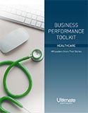 Doctor with stethoscope; Optimizing Business Performance through Improved People Management: HR Leaders in the Healthcare Space Share Their Stories