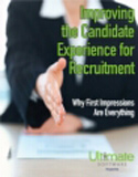 Manager extending hand to interviewee- Improving the Candidate Experience for Recruitment: Why First Impressions are Everything - HCM Whitepaper