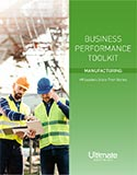 Worker in hard hat; Cost Savings and Business Agility through Unified Human Capital Management: Success Stories from the Manufacturing Industry