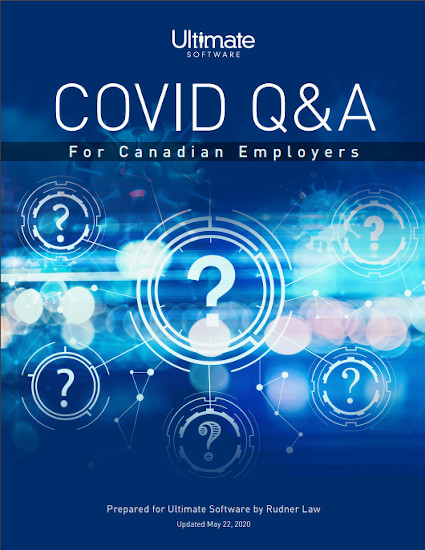 HR Law Essentials: COVID Q&A For Canadian Employers