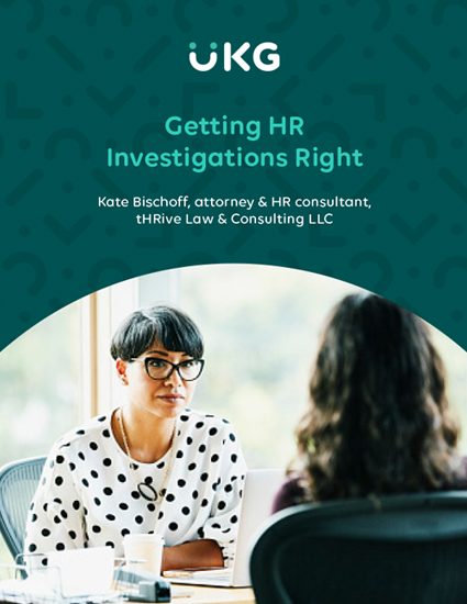 Getting HR Investigations Right