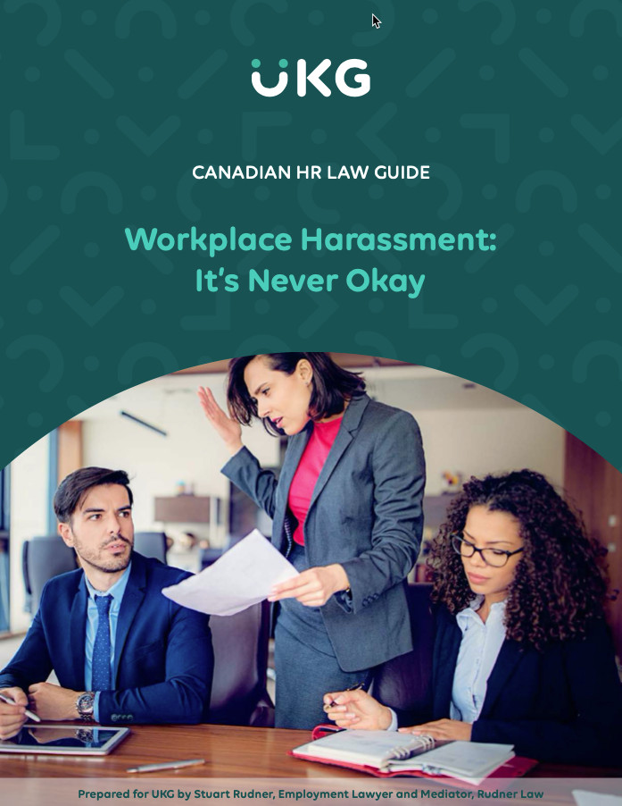 Workplace Harassment: It's Never Okay