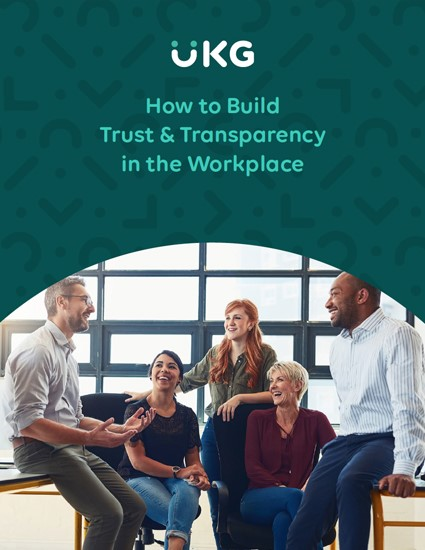 How to Build Trust and Transparency in the Workplace