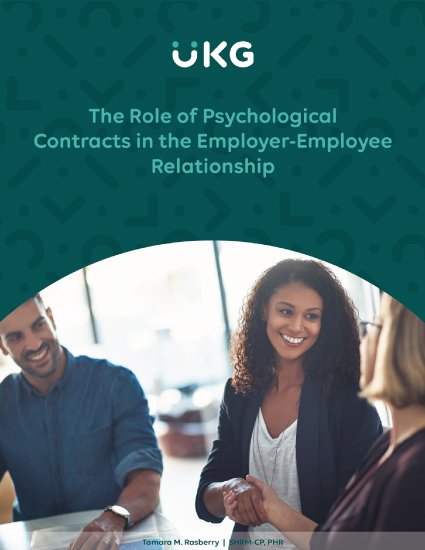 The Role of Psychological Contracts in the Employer-Employee Relationship