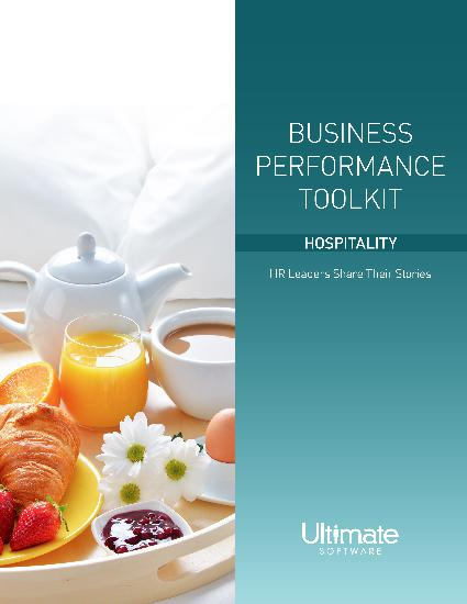 Business Performance Toolkit for Hospitality