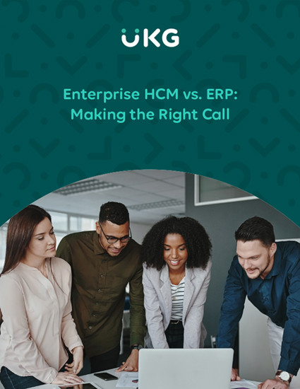Enterprise HCM vs. ERP: Making the Right Call