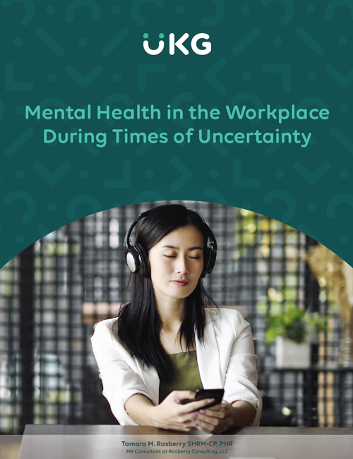 Access your guide to learn more about handling mental health in the workplace during times of uncertainty.