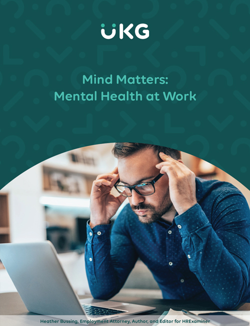 Learn what you can do as an employer to help your employees struggling with mental illnesses.