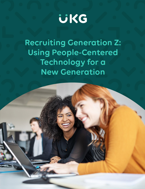 Recruiting Generation Z: People-Centered Tech for a New Generation