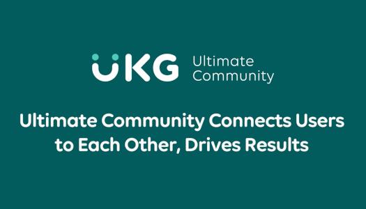 UKG Community Customer Testimonial